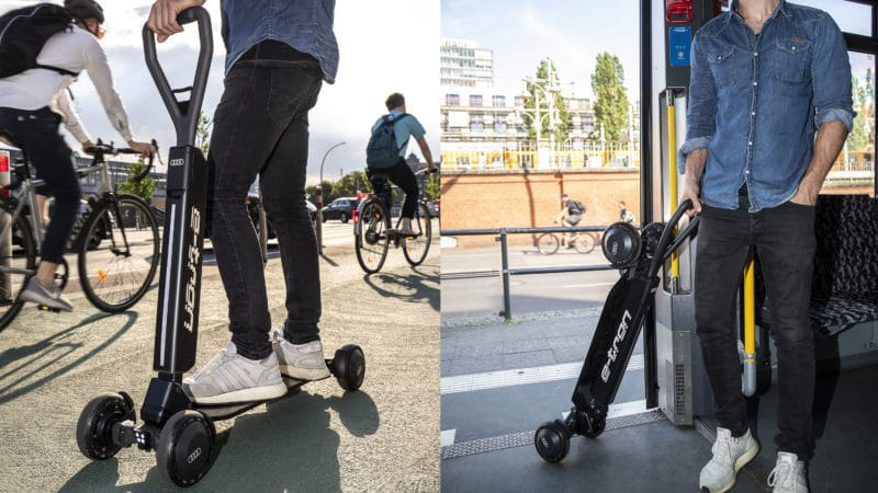 Image result for audi e tron scooter