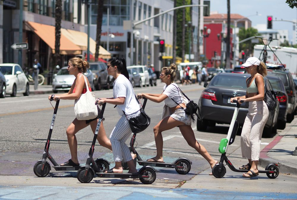 Image result for electric scooter popularity